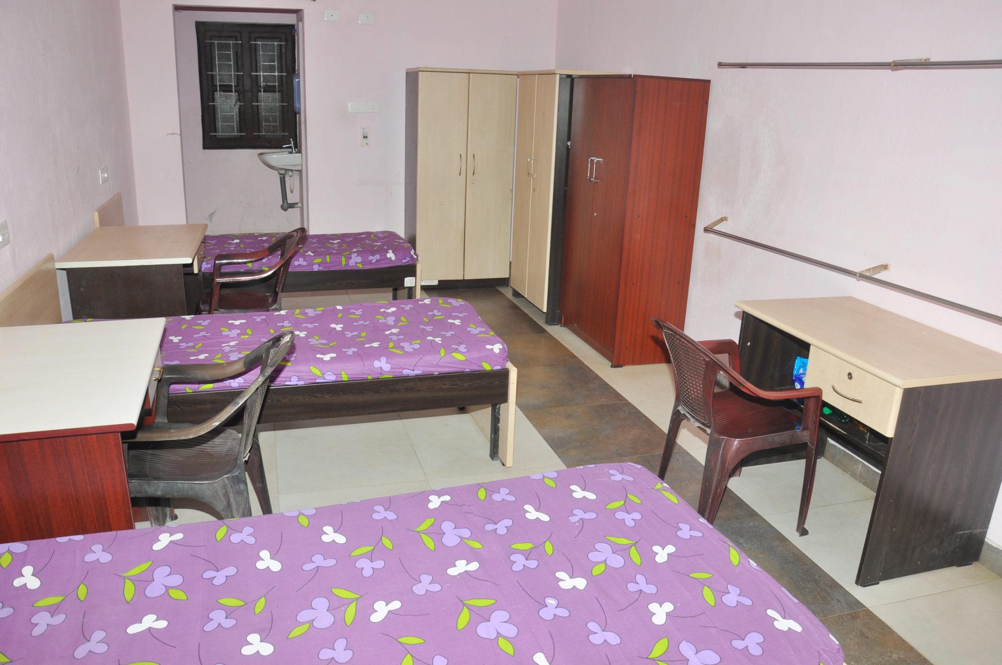 Separate Hostel for Boys & Girls